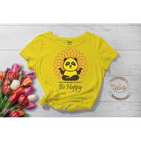 Be Happy Printed TShirt