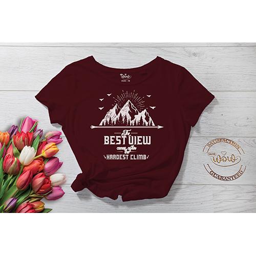 Mountain Printed T-Shirt
