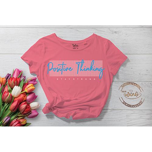 Positive Thinking Summer T-Shirt