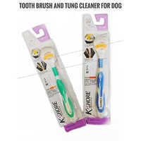 Tooth Brus and Tung Cleaner for Dog