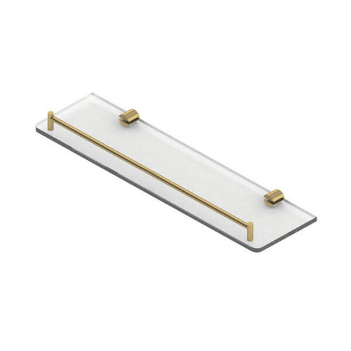 Glass Shelf with Rail H2O