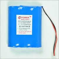 11.1V Rechargeable Li-Ion Battery