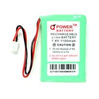 7.4V 1100 MAH Rechargeable Li-ion Battery