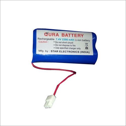 2200mAh Rechargeable Li-Ion Battery
