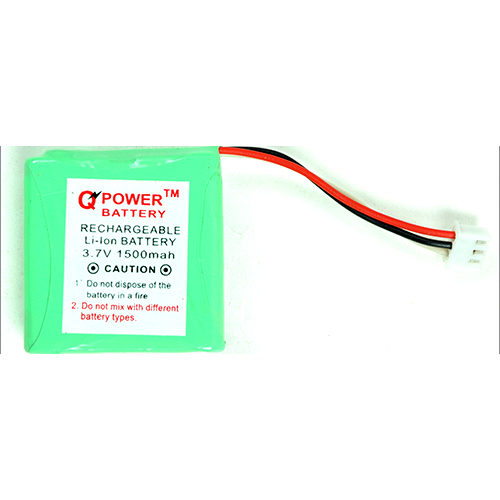 3.7V 1500 MAH Prismatic Rechargeable Li-ion Battery