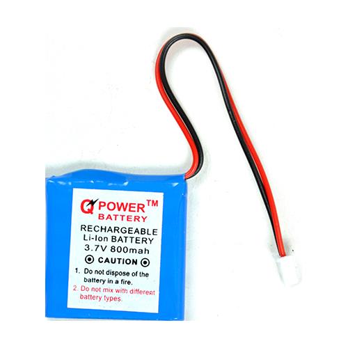 3.7V 800 MAH Square Rechargeable Li-ion Battery