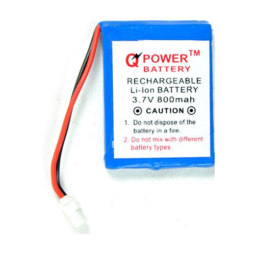 3.7V 800 MAH Small Rechargeable Li-ion Battery