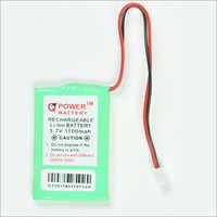 3.7V 1100 MAH Rechargeable Li-ion Battery