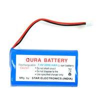 7.4V 2200 MAH Rechargeable Li-ion Battery