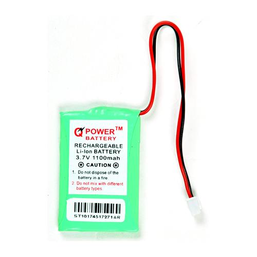 1100 mAh Rechargeable Li-ion Battery
