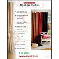 Blackout Plain Curtains