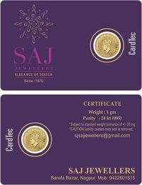 SILVER COIN CARDS