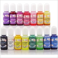 Pigment Dye Colorant Oil Soluble - Pearlized - Shiny / Warm - Cool Colours / For UV Resin Epoxy Resin Slime Candles 5.0