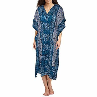 Viscose Lace Kaftan Dresses