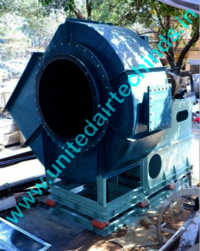 Frp Centrifugal Blowers With Rubber Coated Impellers
