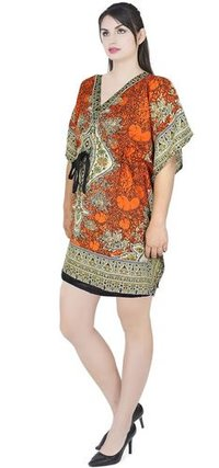Women Maxi Viscose Digital Printed Stylish Kaftan