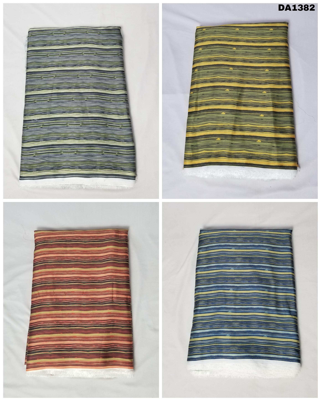 Linen Sartin Digital Print Fabric