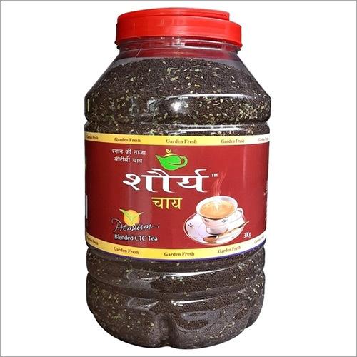 Shourya Tea Jar With Leaf - 3.0 Kgs