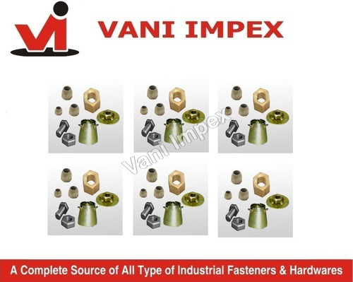 Nut Bolt And Washer For Anchors