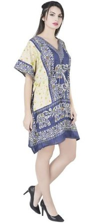 Women's Kaftan Summer Maxi Kimono Dress