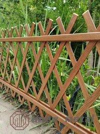 Aluminium 3d Woodgrain Railings