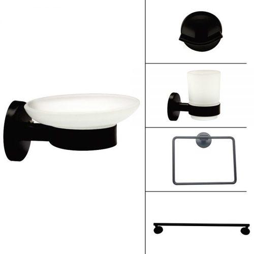Bath Accessories - Black Finish