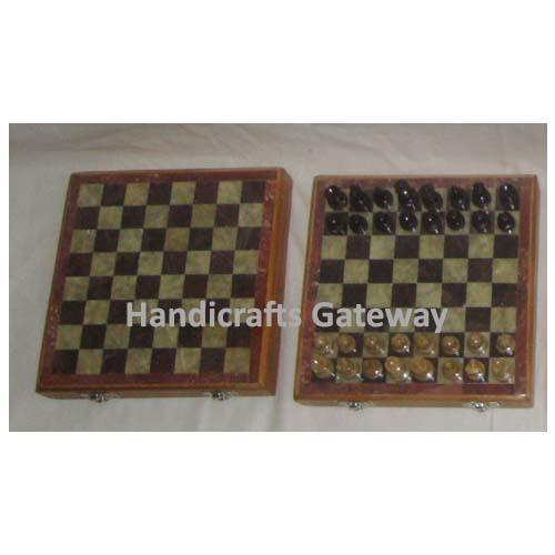 Handmade Wooden Chess Set / Board