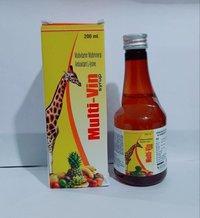 Multi-vin Syrup 200ml