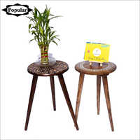 Wooden Side Stools