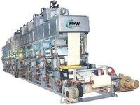Blister Lid Foil Printing Machine