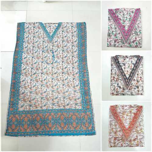 Beautiful Printed Long Kaftan Beach Dress