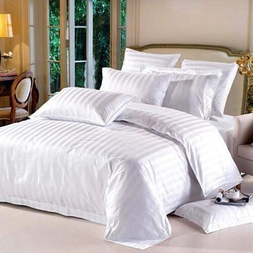 Cotton Satin Stripe Fabric