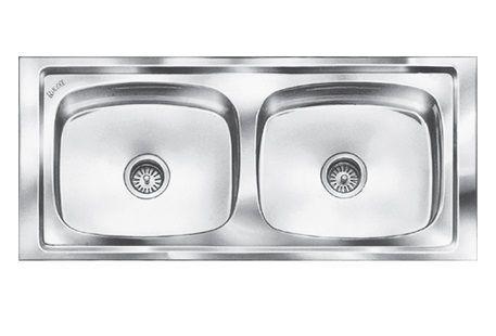 45X20X9 Premimum Double Bowl Sink