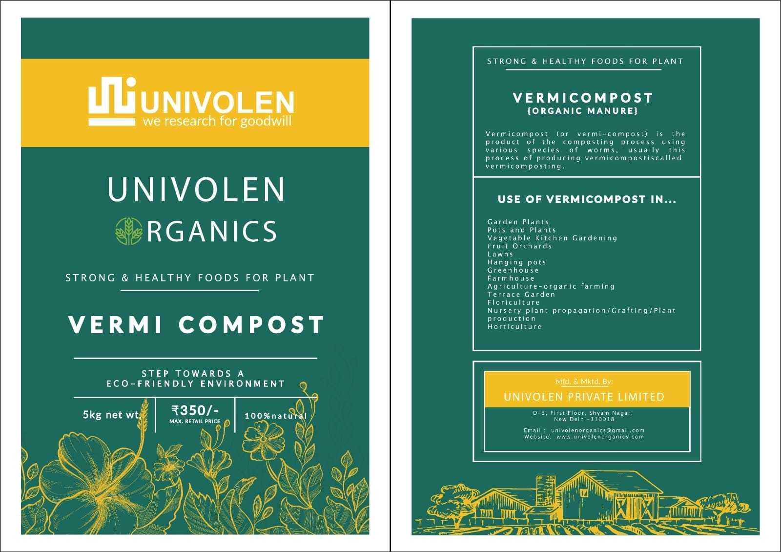 UNIVOLEN VERMI-COMPOST MANURE