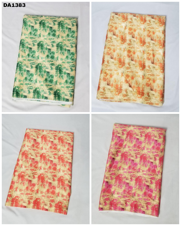 Summer Velvet Digital Print Fabric
