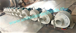 Multiple Outlet Compact Blower