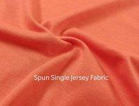 Spun Sinlge Jersey Knitted Fabric