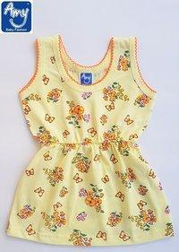 Style No S33Q Baby & Junior Girls Frock Cum Slip