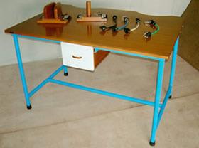 IMI-1467 Horizontal Sanding Table With Metal Frame.