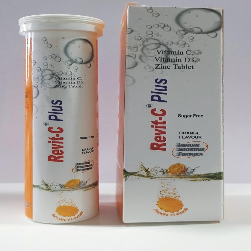 vitamin C effervescent tablet