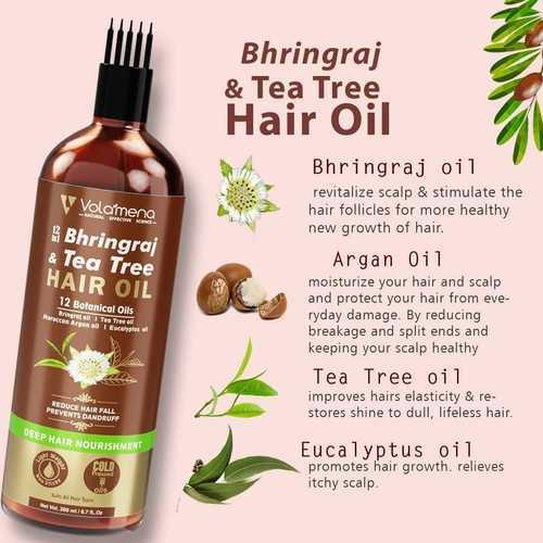 Volamena 12 in 1 bhringraj & Tea Tree Oil 200 ml