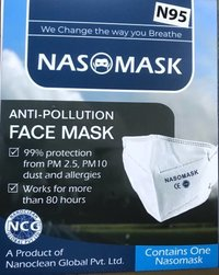 Nasomask Latest Anti-Pollution Face Mask N95