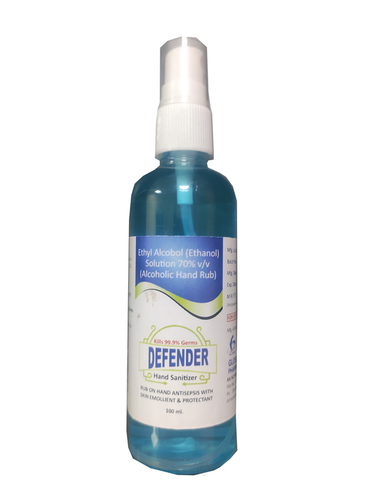 Defender Hand Sanitizer 100ml Mist Spray