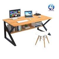 Mdf Modern K Shaped Table Base Home Office Modern Desk