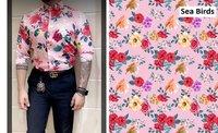 Bright Satin Shirting Fabric-58 Inch Width