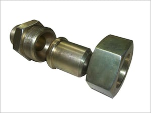 Hex Nipple With Nut