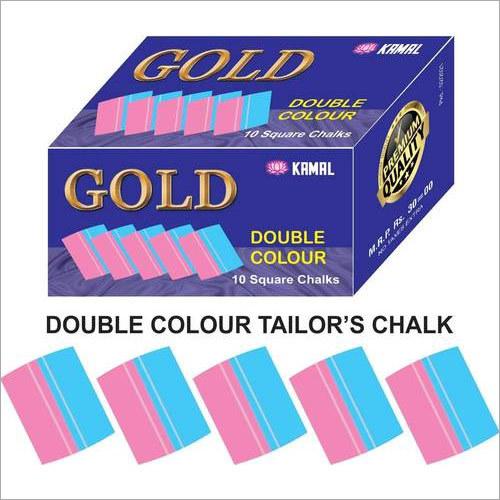 Tailor Chalk Double Color Square Shape