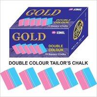 Double Color Square Shape Tailor Chalk