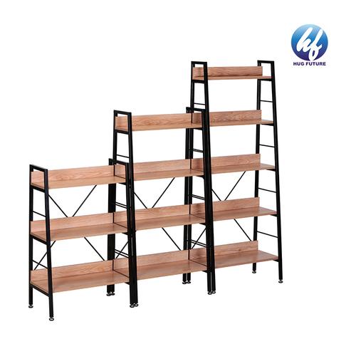 Tall And Wide Bookshelves Iron Wood Bookcase Bookshelf Cabinet Furniture