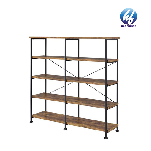 Office Industrial Stable Steel Frame Bookshelf